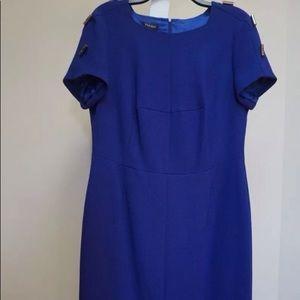 ESCADA Royal Blue Dress!